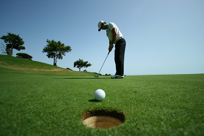 what is a scramble in golf